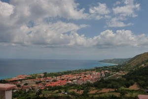 View of Zambrone from penthouse